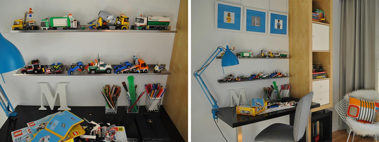 UltraLedge Lego Picture shelf
