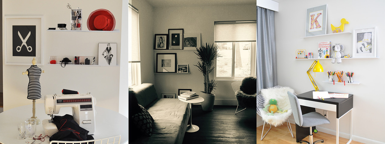 UltraLedge White Picture ledge