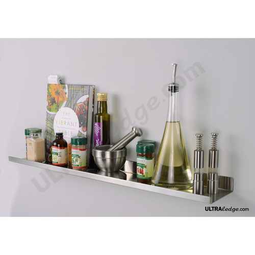 30in stainless steel spice rack