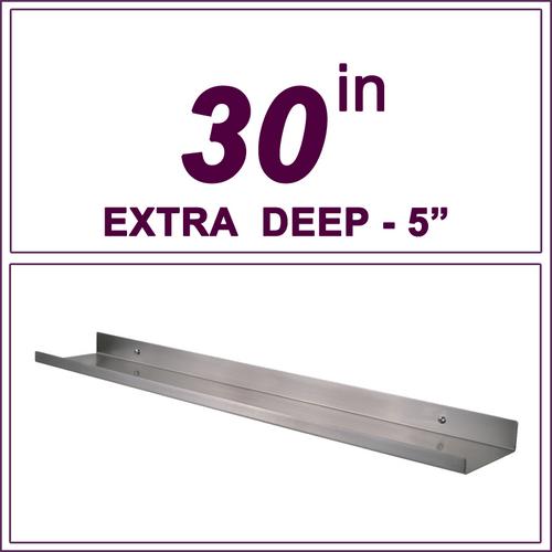 """30"""" STAINLESS STEEL over-the-range shelf"""