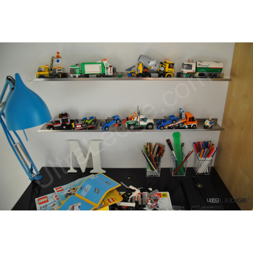 LEGO Display Shelves, various colors and sizes