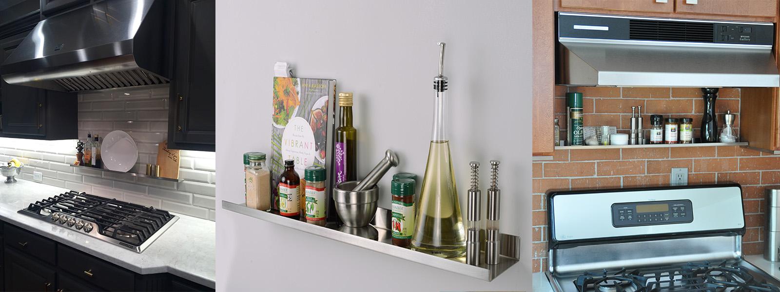 UltraLedge Over the range shelves
