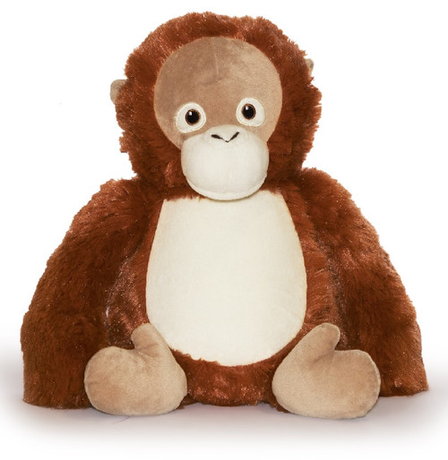 NEW Custom Embroidered Orangutan Stuffed Animal