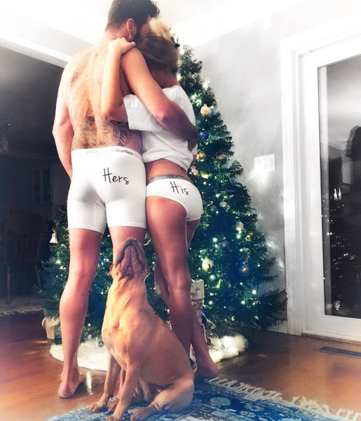 His and Hers matching couples underwear