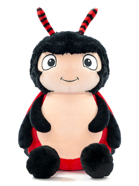 NEW Custom Embroidered Red Ladybug Stuffed Animal