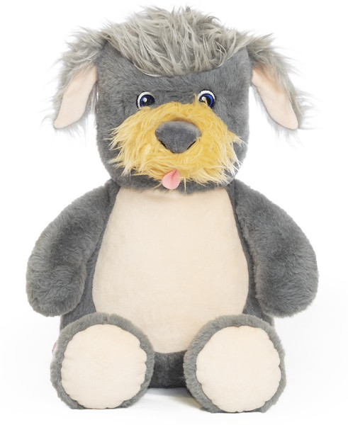 NEW Custom Embroidered Terrier Dig Stuffed Animal