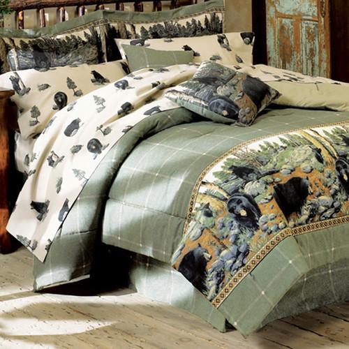 Black Bear Bedding Comforter Sets - OUT OF STOCK