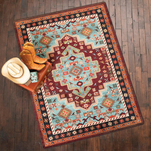 Turquoise Canyon Rug Collection