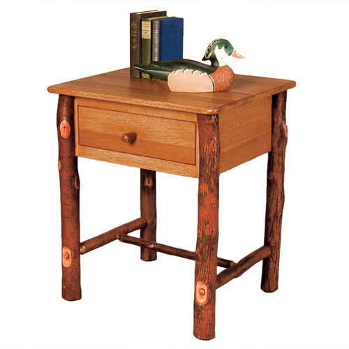Black Forest Hickory Craft Nightstand