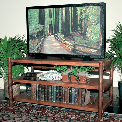 Black Forest Hickory TV Stand