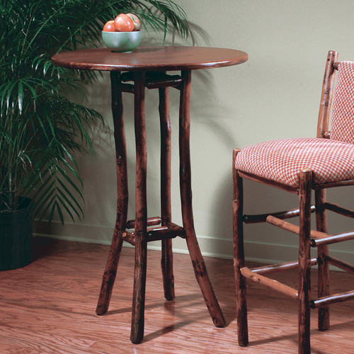 Black Forest Hickory Bar Table