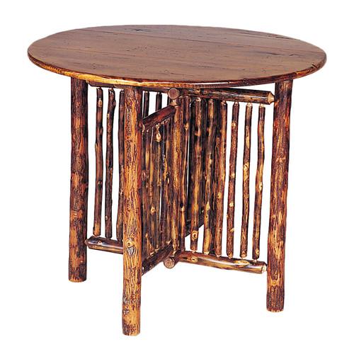 Black Forest Hickory Gate Leg Table
