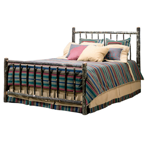 Black Forest Berea Hickory Bed - King