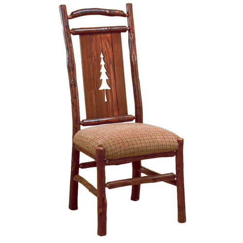 Black Forest Pine Tree Hickory Side Chair