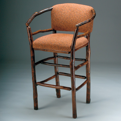 Black Forest Hickory Hoop Bar Chair