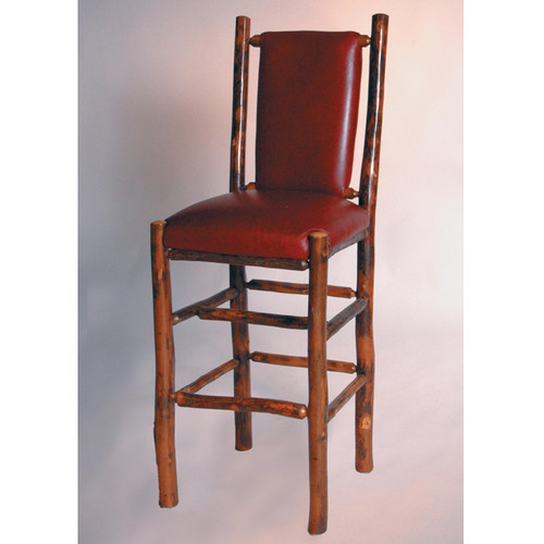 Black Forest Hickory Vail Bar Chair