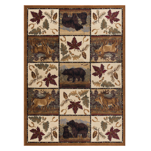 Woodland Scenes Rug Collection
