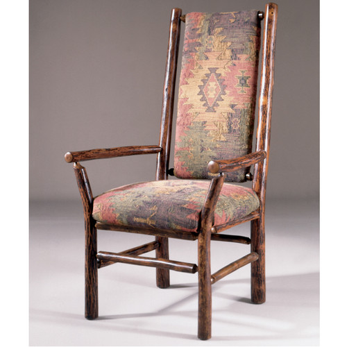 Black Forest Highback Hickory Arm Chair