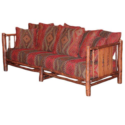 Black Forest Pine Tree Hickory Sofa