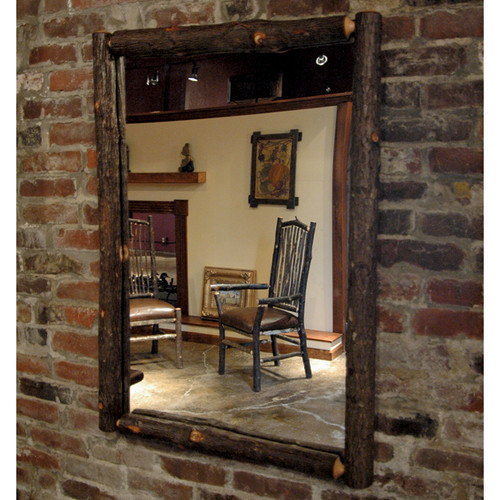 Black Forest Berea Hickory Mirror