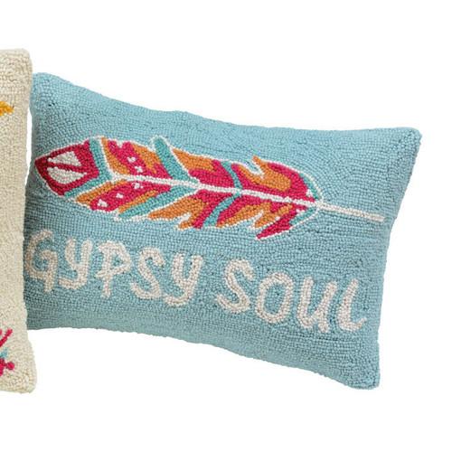 Free Spirit Hooked Pillow