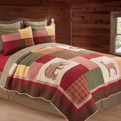 Friendly Forest Quilt - Twin