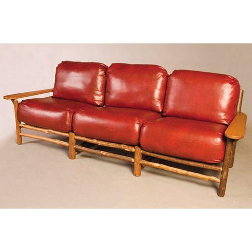 Black Forest Hickory Club Sofa
