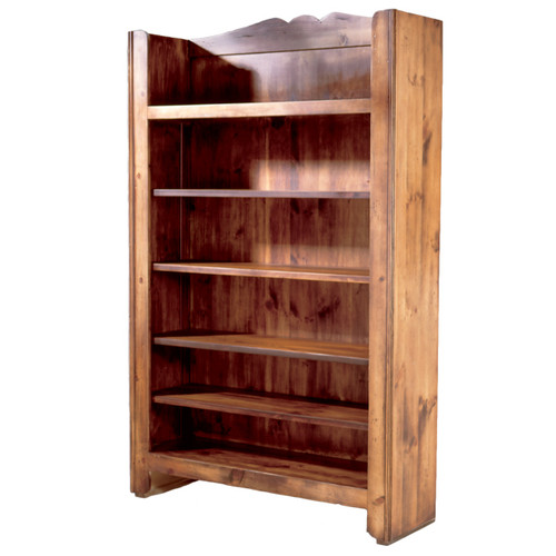 Black Forest Burntwood Bookcase