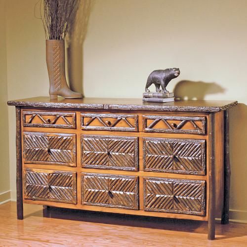 Black Forest Mosaic Six Drawer Dresser