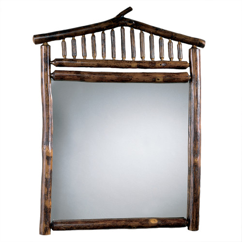 Black Forest Hickory Rooftop Mirror