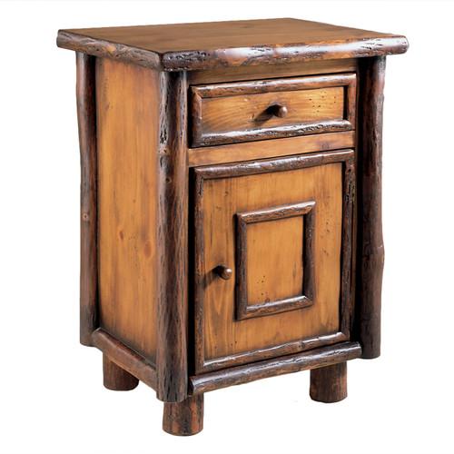 Black Forest Hickory Vail One-Door Nightstand