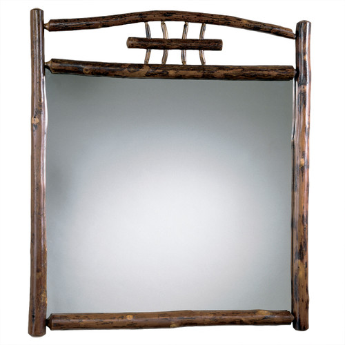 Black Forest Hickory Indiana Wheat Mirror
