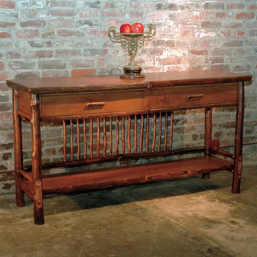 Black Forest Hickory Craft Sideboard