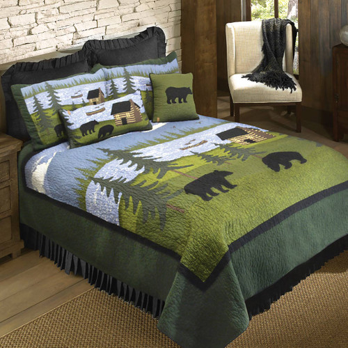 Bear River Quilt Bedding Collection