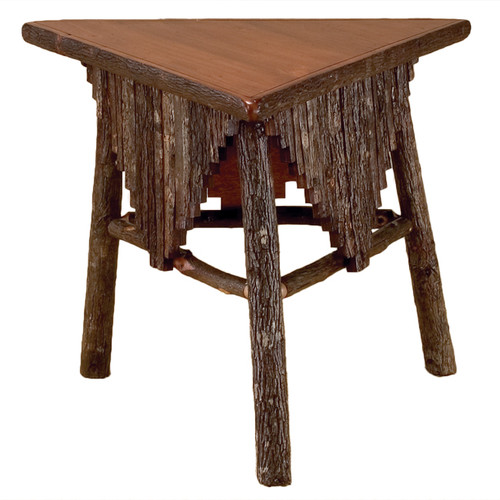 Black Forest Hickory Shawl Table