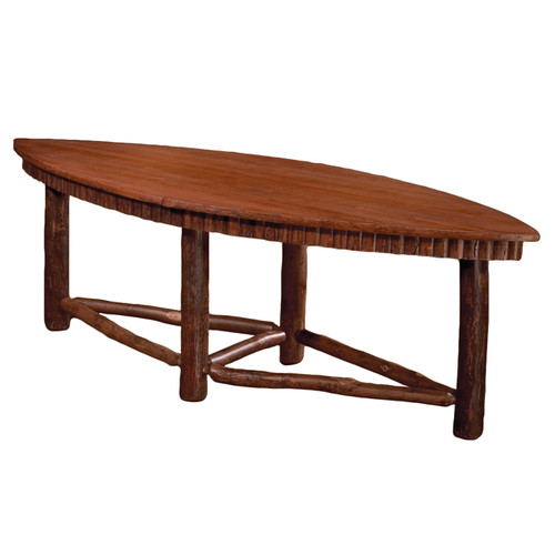 Black Forest Hickory Kayak Table