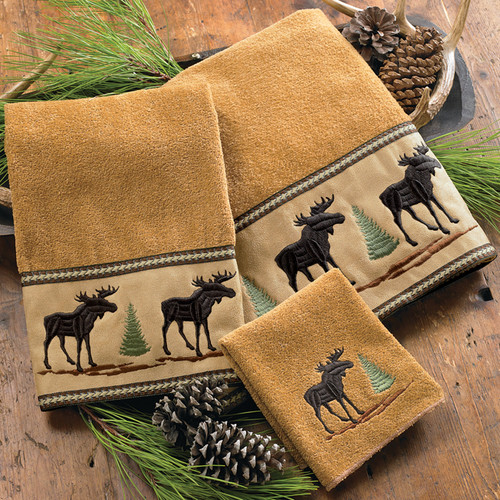 Moose & Pine Towel Collection