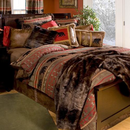 Gallatin Bear Bed Set - Queen