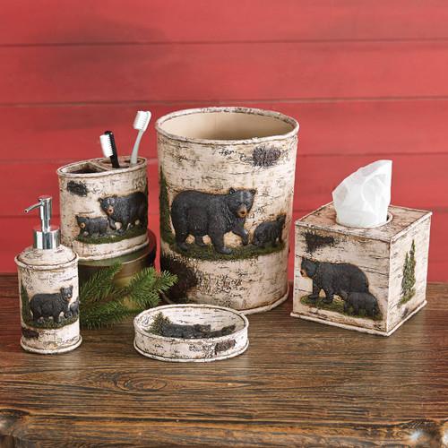 Woodland Bear Bath Accessories