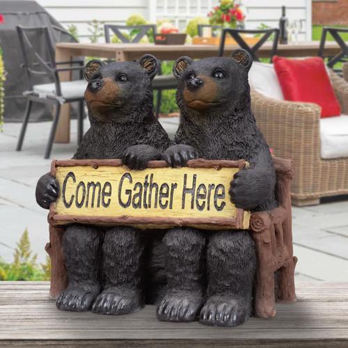 Gather Here Bears Sculpture