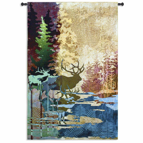 Ghosts of the Tall Timbers Large Wall Tapestry