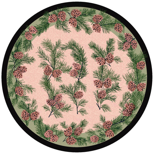 Gifts of the ForestGreen Rug - 8 Ft. Round