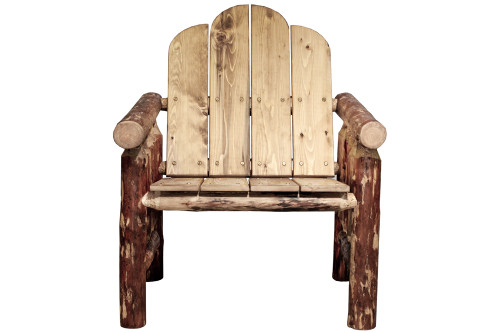 Glacier Deck Chair - Country Exterior Finish