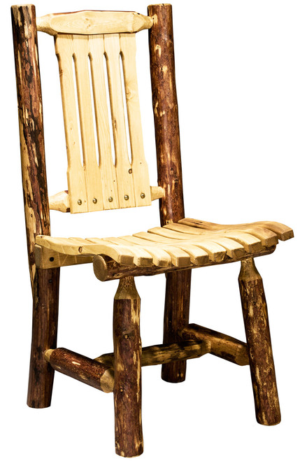 Glacier Patio Chair - Country Exterior Finish