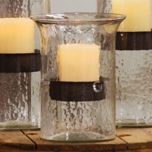 Glass Mountain Candle Holder - Small