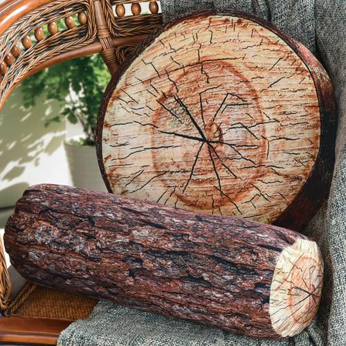 Log Tree Pillows