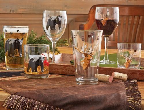 Wildlife Glassware Sets