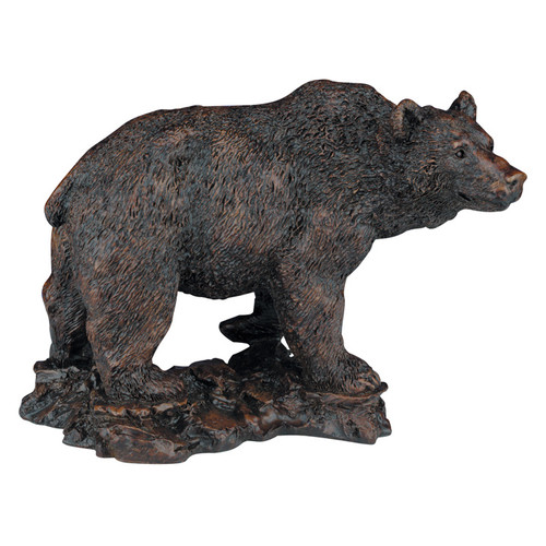 Grizzly Bear Burlwood Sculpture