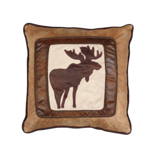 Chocolate Moose Pillow