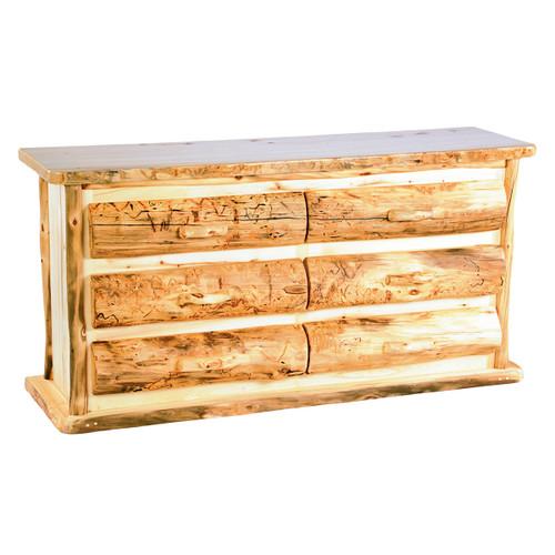 Heirloom Six Drawer Dresser - 5 Foot